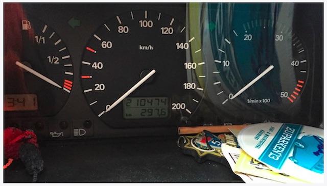 VW Bus Zahnriemen erneuert Km Stand am Tag der Fehlerdiagnose 01 2015