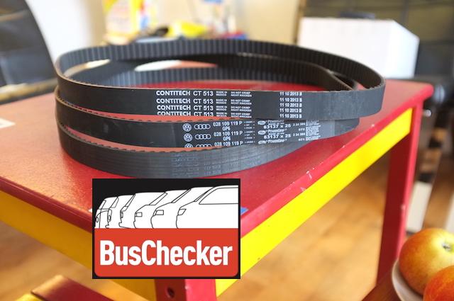 VW Bus Zahnriemen verschiedene Hersteller TEST BusChecker
