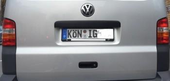 VW Bus Zulassung kannst Du selber
