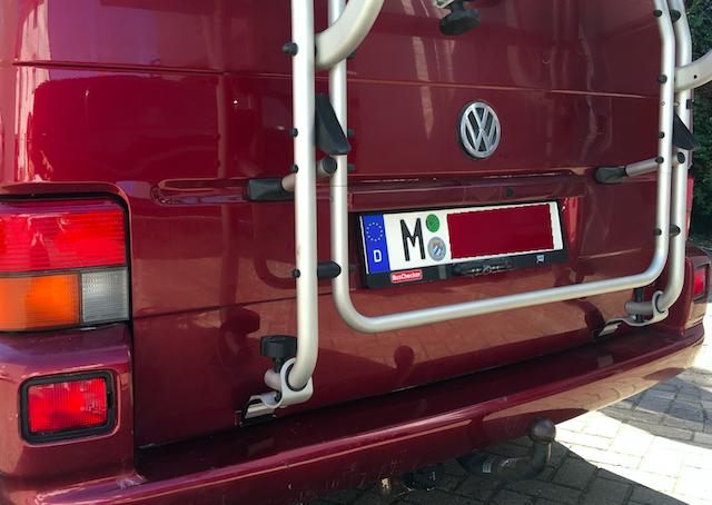 Test Rueckfahrkamera VW Bus mit dem Bus Checker DIY