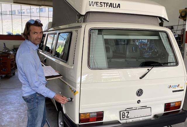 BusChecker Sachverstaendiger VW Bus Klassiker