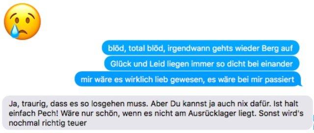 BusChecker feed back nach Liegenbleiber 09 2017