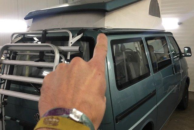 Dachzelt VW Bus T4 erneuern Erfahrungen