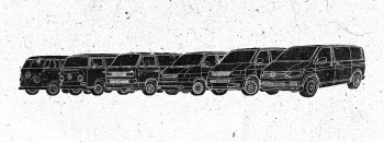 VW Bus Typen 1 bis 6