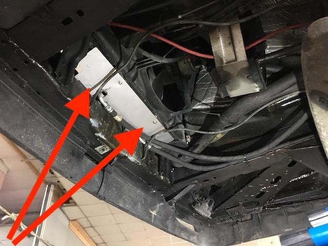 Luftleitbleche VW Bus T3 erneuern verbessert Luftdurchsatz durch den Motorkühler und Kühlung