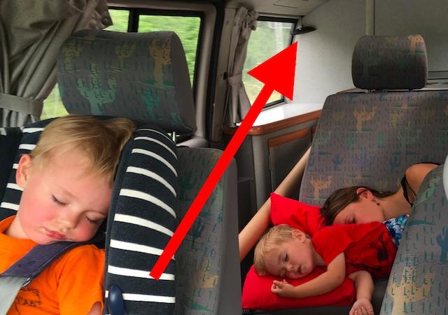 Rueckfahrwarner VW Bus Klebeband Display taugt nichts