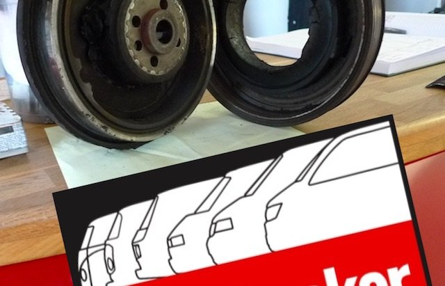 Schwingungsdaempfer T4 TDI defekt nach 250ooo Km Laufleistung