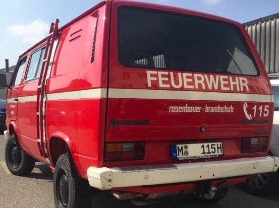 T3 Syncro Feuerwehr Referenz BusChecker 04 2019