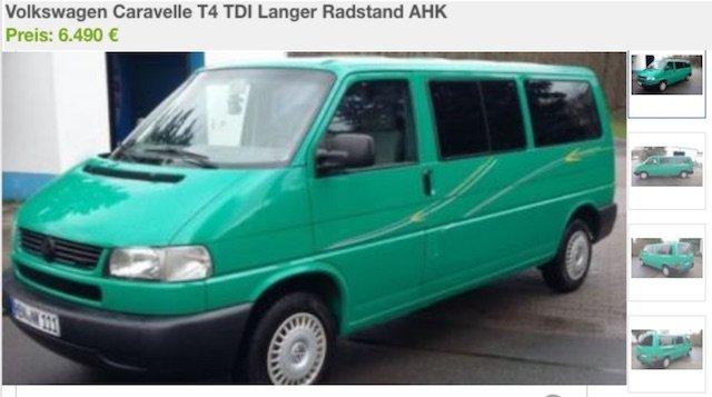 T4 Kaufberatung Suhl Referenz VW Bus Checker