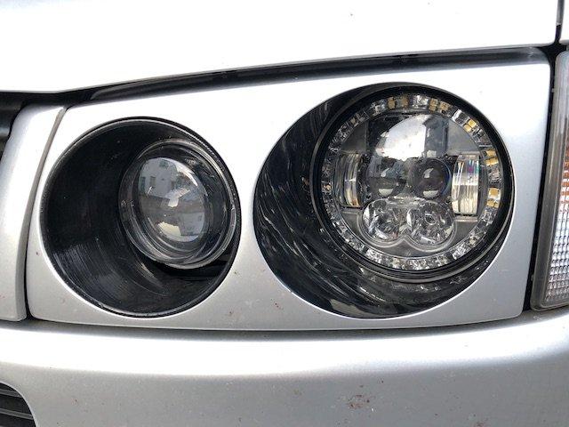T4 LED Eljot Scheinwerfer mit TÜV Referenz BusChecker