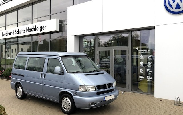 T4 Multivan FaltDachCamper kaufen Ravensburg Erfahrungen BusChecker