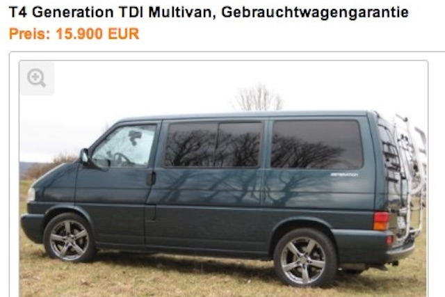 T4 Multivan Generation TDI BusChecker Referenz Christoph