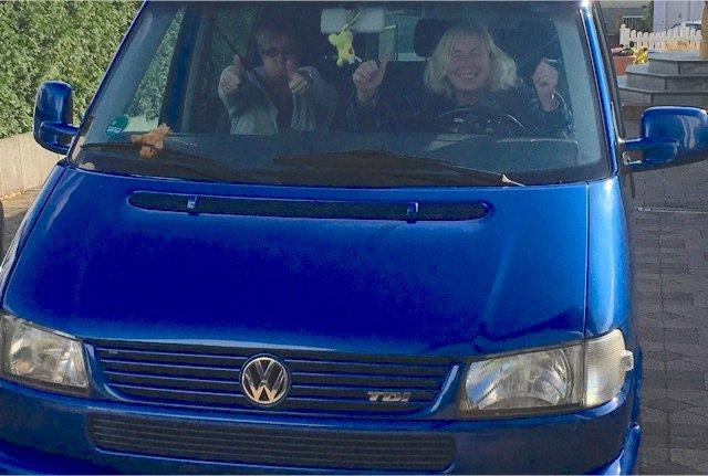 T4 Multivan Olliver Bedankt sich gute Kaufberatung Erfahrungen BusChecker
