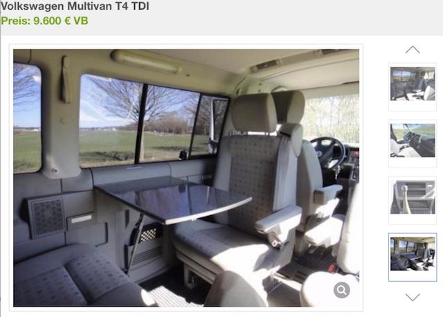 T4 Multivan TDI BusChecker Referenz Steffen Rostock Inserat