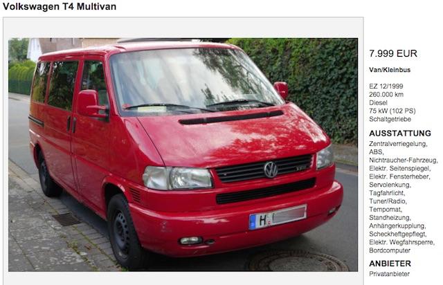 T4 Multivan TDI kaufen mit dem BusChecker Referent Stefan Prerow