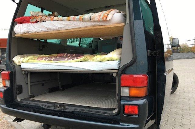 T4 Multivan drei Betten