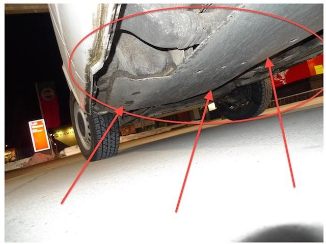 T4 Syncro Kaufberatung mit dem BusChecker Unterfahrschutz Eigenbau für Standheizung