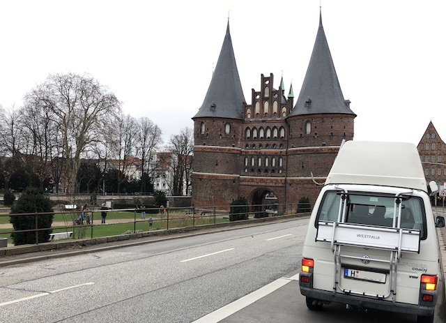 T4 Westfalia Coach HochDachCamper Edgar VW BusChecker Probefahrt Luebeck 01 2019