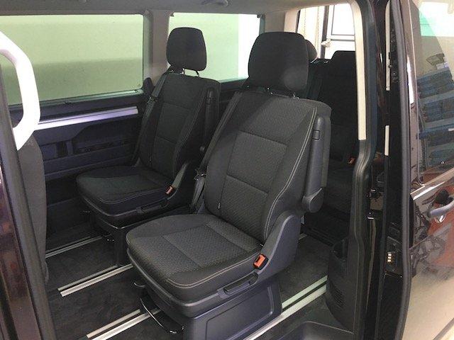 T5 Multivan kein Kofferraum wenn alle mit wollen