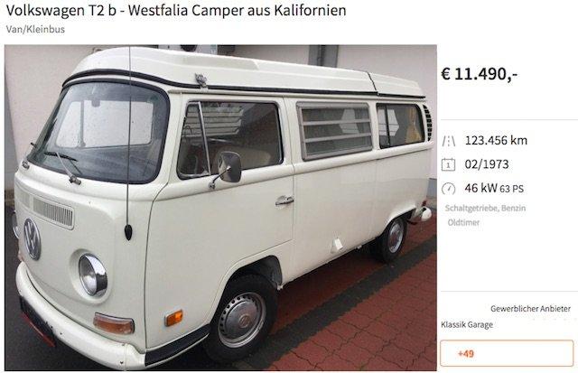 VW Bus Ankauf Bargeld sofort gut beraten mit dem BusChecker