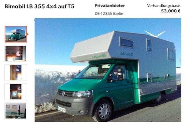 VW Bus Bimobil Beratung VW Bus Checker Referenz Peter 06 2016