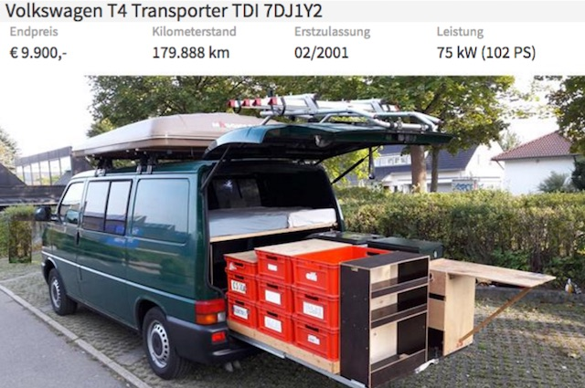 VW Bus Camper Kastenwagen Referenz Bus Checker Januar 2017
