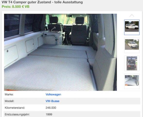 VW Bus Camper Test Erfahrungen BusChecker