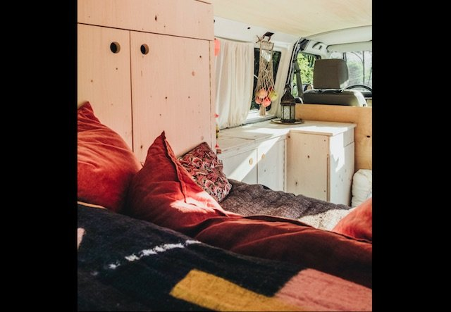 VW Bus Innenausbau Ideen gesendet von Bianca und Sascha an den BusChecker
