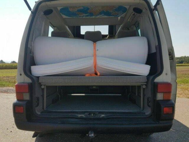 VW Bus Multivan Matratze Liegeflächenauflage