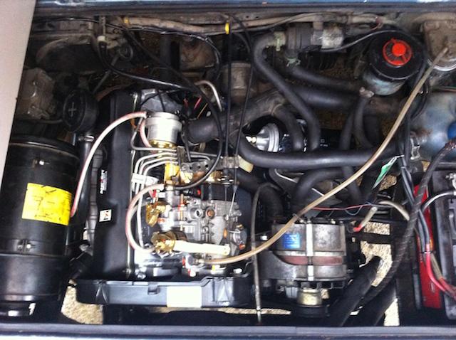 VW Bus T3 Mototrraum mit wertigen Ersatzteilen hergerichtet