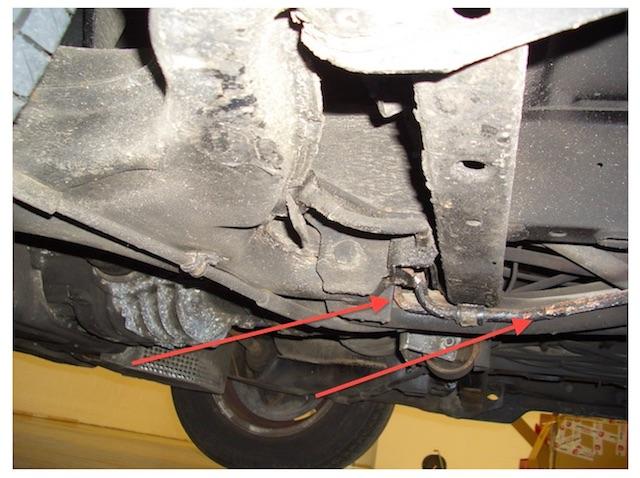 VW Bus T3 Servoleitung Metallrohre sind immer Faktor auf Zeit und stets kurz vorm platzen