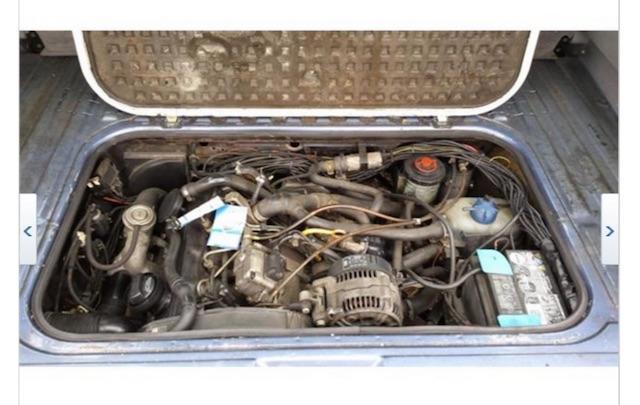 VW Bus T3 TDI Motorraum furchtbarer Umbau
