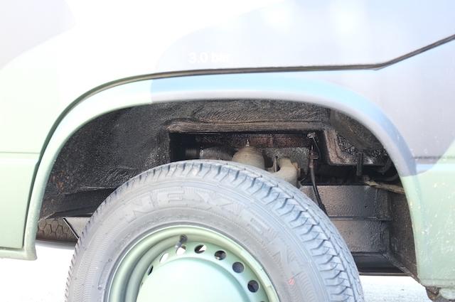 VW Bus T3 Unterboden manipuliert