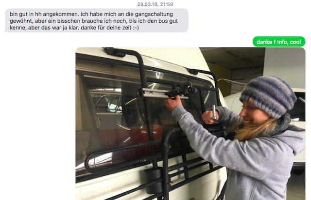 VW Bus T3 kaufen Hamburg Erfahrungen Referenz BusChecker Alina 03 2018