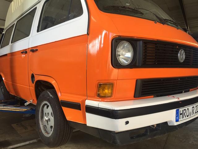 VW Bus T3 mit kleinem budget wieder flott machen