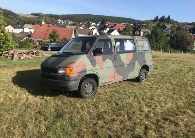 VW Bus T4 Bundeswehr kaufen Erfahrungen