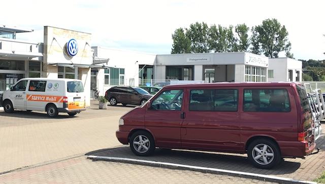 VW Bus T4 Multivan Bus Checker Referenz Ben aus Muenchen 10 2016