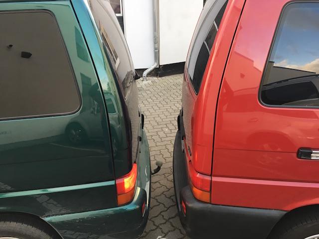 VW Bus T4 Rueckfahrhilfe Test mit dem VW Bus Checker