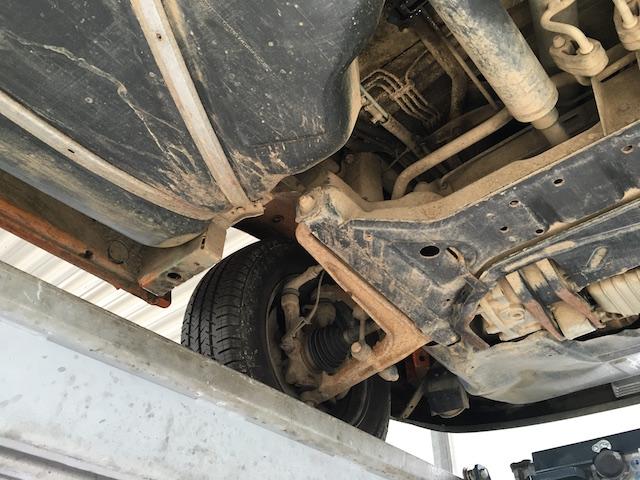 VW Bus T4 Syncro Unterboden check
