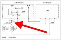 vw bus t4 tdi schaltplan stromversorgung absteller esp. Black Bedroom Furniture Sets. Home Design Ideas