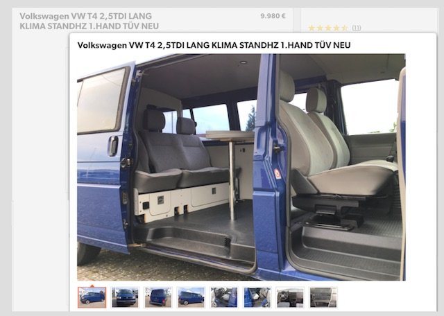 VW Bus kaufen Luebeck Referenz VW Bus Checker T4 Paul 08 2017