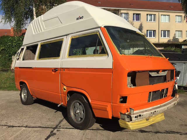 VW Bus rollen oder lackieren