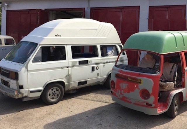 VW Bus rollen workshop BusChecker Pangea Festival 2015