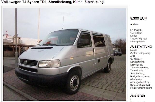 Vw Bus T4 Syncro 2.5 TDI Simon Kiel 01 2015