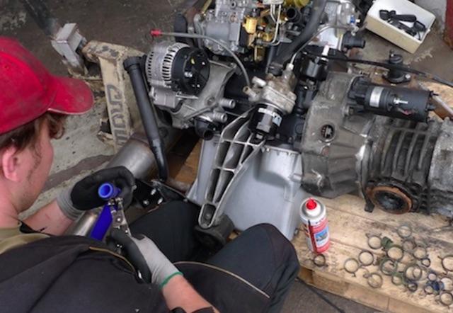 1.9 TD Motor nachrüsten im VW Bus T3