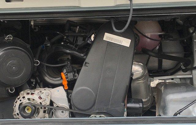 T2c Motorraum Wassergekühlt Reihen 4 Zylinder