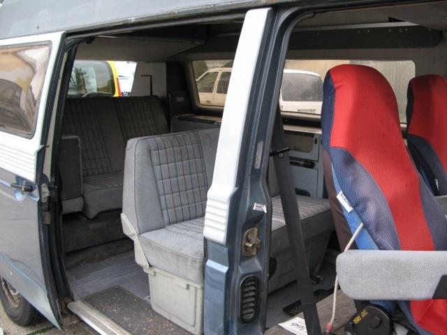 T3 Dehler Sitzreihe zwei in Fahrtrichtung