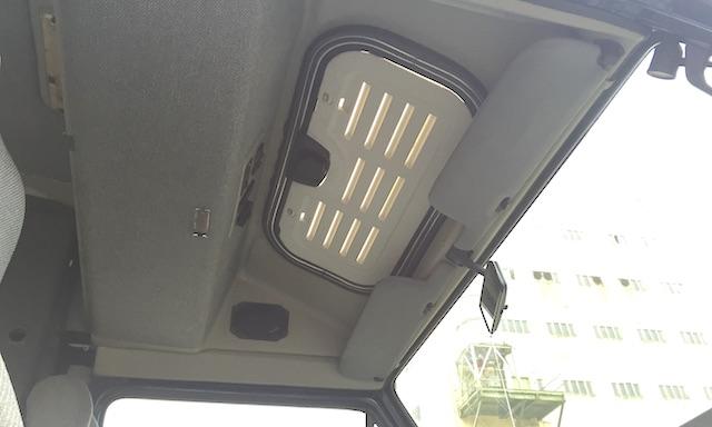 T3 Dehler Sonnedach vorne ueber Fahrer
