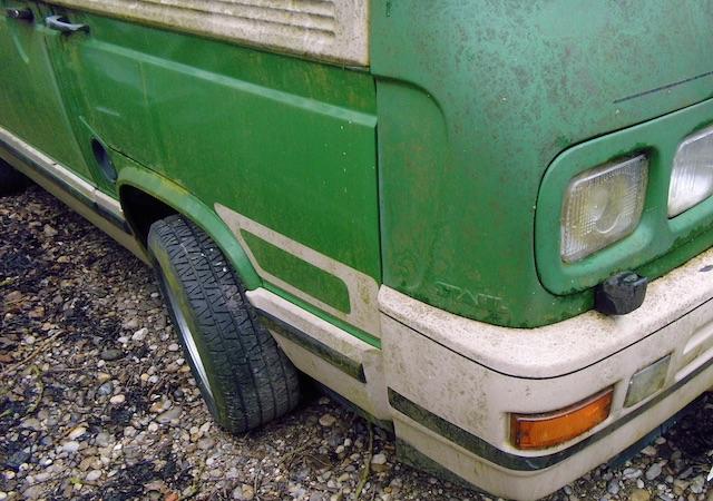 T3 Dehler mit Front von Stahl Fahrzeugbau