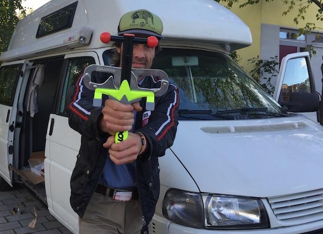 VW Bus Fussfessel Bullock is BusChecker s favorit